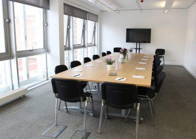 Elm Room - boardroom