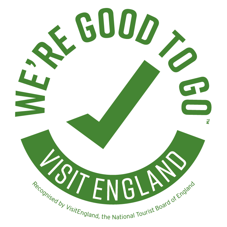 "Logo for the ""We're Good to Go"" Industry Standard"