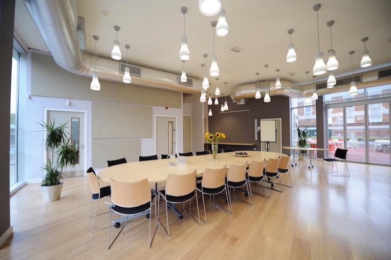 Duffield Room in boardroom layout